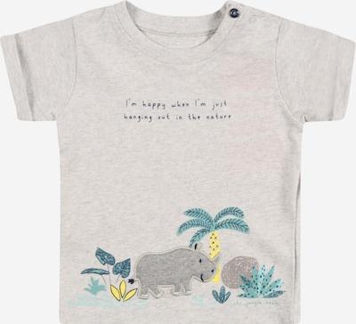 STACCATO T-Shirt in navy / türkis / limone / stone / graumeliert, Produktansicht
