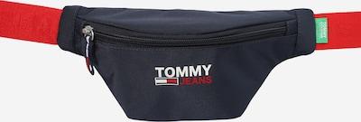 Tommy Jeans Jostas soma 'CAMPUS', krāsa - tumši zils / piparmētru / gaiši sarkans / balts, Preces skats