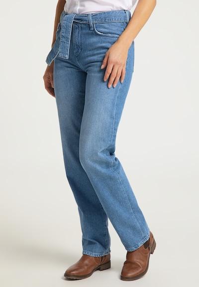MUSTANG Jeans ' Mia ' in blue denim, Modelansicht