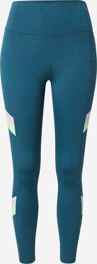 NIKE Sportbroek in de kleur Petrol / Neongroen / Lichtlila, Productweergave