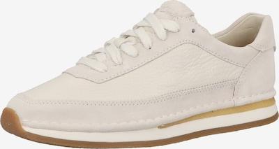 CLARKS Baskets basses en beige / blanc, Vue avec produit
