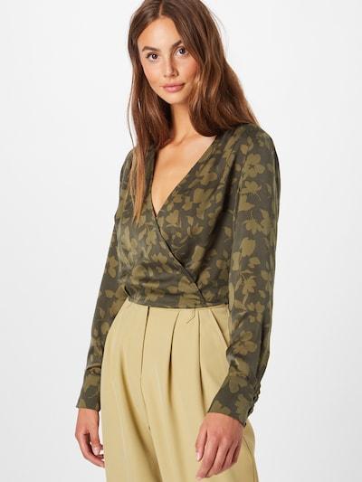 Guido Maria Kretschmer Collection Bluse 'Gwenda' in grün, Modelansicht