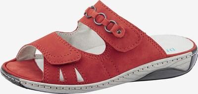 WALDLÄUFER Pantolette in rot, Produktansicht