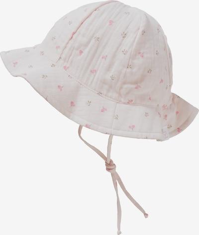 MAXIMO Hut in oliv / pastellpink / hellpink, Produktansicht