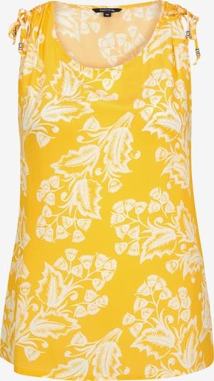 COMMA Blouse in de kleur Geel, Productweergave