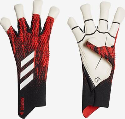 ADIDAS PERFORMANCE Handschuh in merlot / schwarz / weiß, Produktansicht
