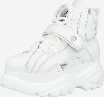 Sneaker înalt de la Buffalo London pe alb