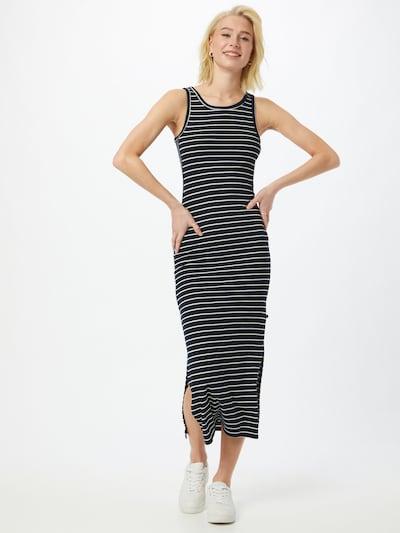LTB Kleid 'JOKADA' in dunkelblau / weiß, Modelansicht