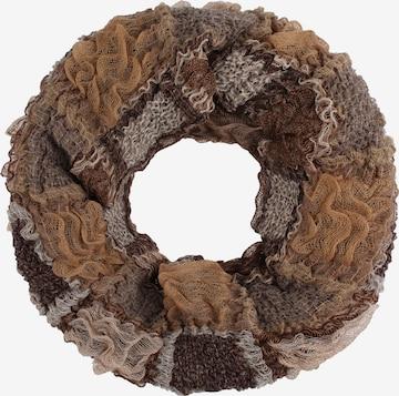 IZIA Loop scarf in Brown