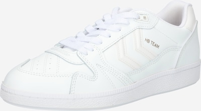Hummel Sneakers in White: Frontal view