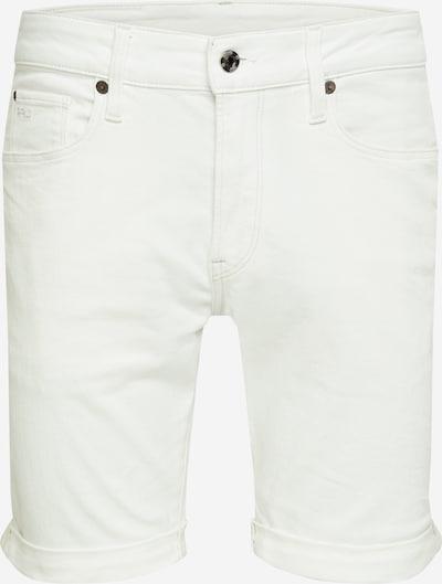 G-Star RAW Shorts '3301' in white denim, Produktansicht