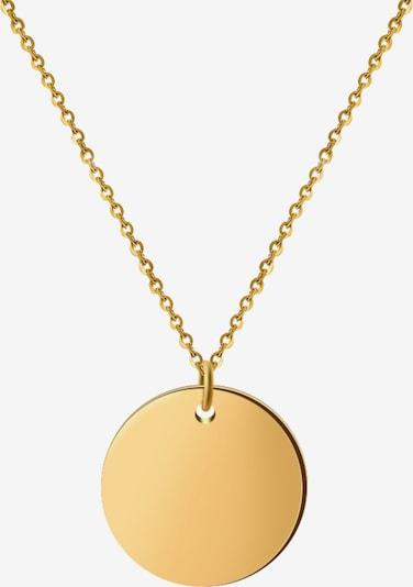 GOOD.designs Coin Halskette in gold, Produktansicht