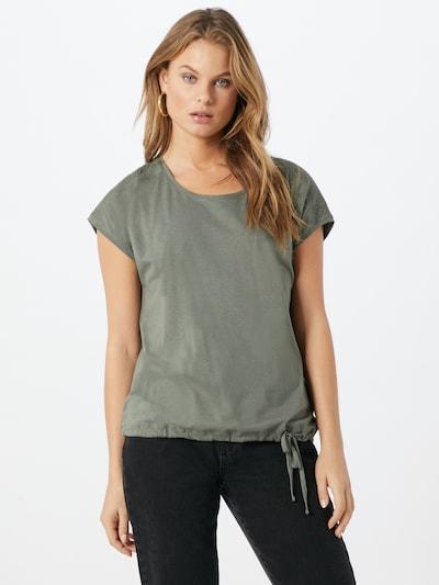 CECIL T-Shirt in khaki: Frontalansicht