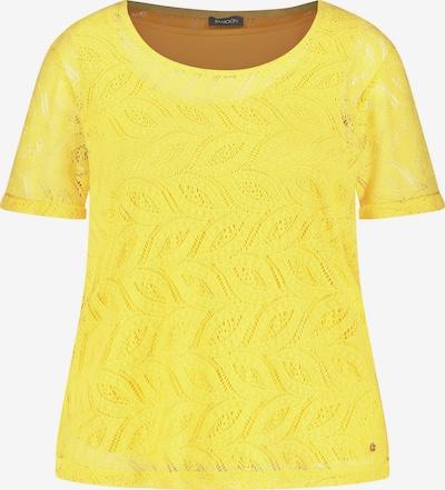 SAMOON T-Shirt in gelb, Produktansicht
