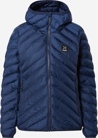 Haglöfs Outdoorjas 'Särna Mimic' in de kleur Blauw, Productweergave