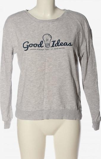 CLOCKHOUSE by C&A Sweatshirt in S in blau / hellgrau / weiß, Produktansicht