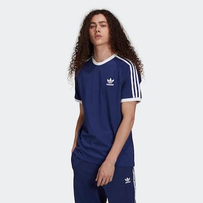 ADIDAS ORIGINALS T-Shirt in blau: Frontalansicht