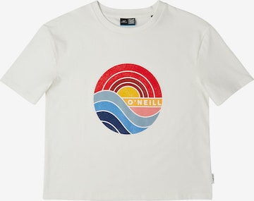 O'NEILL T-Shirt 'Sunrise' in Weiß