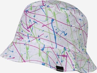 Pălărie CONVERSE pe albastru / verde deschis / lila / alb, Vizualizare produs