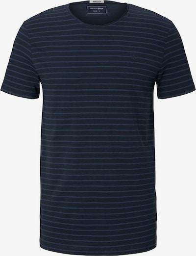 TOM TAILOR DENIM Shirt in de kleur Donkerblauw / Wit, Productweergave
