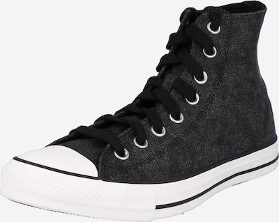 CONVERSE Augstie brīvā laika apavi 'CHUCK TAYLOR ALL STAR' melns / balts, Preces skats