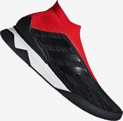ADIDAS PERFORMANCE Fußballschuh in rot / schwarz / weiß: Frontalansicht