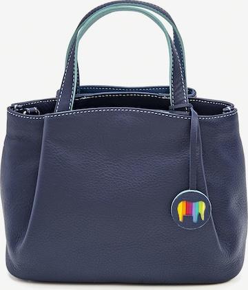 mywalit Verona Handtasche Leder 22 cm in Blau