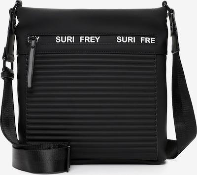 Suri Frey Sac à bandoulière 'Carry' en noir / blanc, Vue avec produit