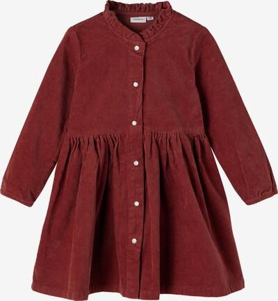 NAME IT Kleid 'Betrice' in burgunder, Produktansicht