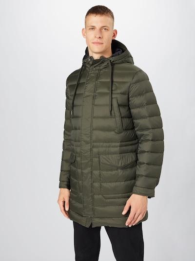 Žieminis paltas iš ARMANI EXCHANGE , spalva - rusvai žalia, Modelio vaizdas