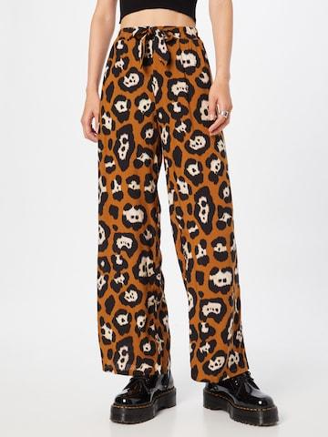 Pantaloni con pieghe 'RAJA' di Soyaconcept in marrone