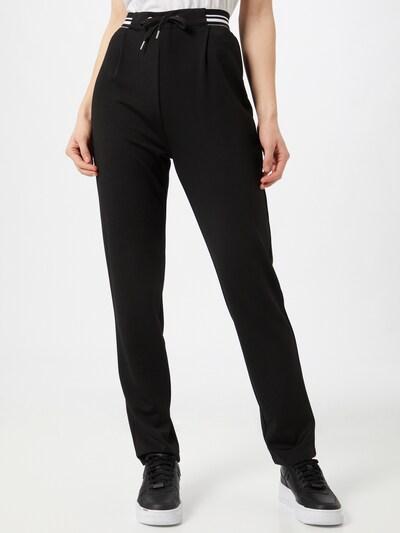 ABOUT YOU Pantalon 'Laila' en noir, Vue avec modèle