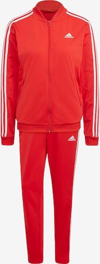 ADIDAS PERFORMANCE Trainingsanzug in rot / weiß, Produktansicht