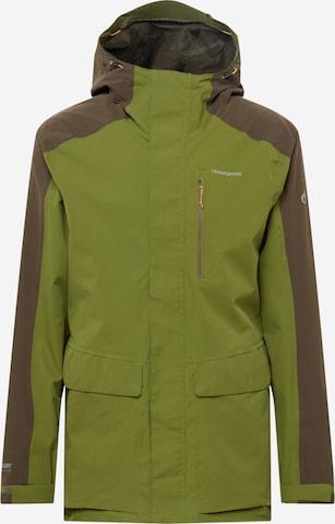 CRAGHOPPERS Vabaajajope 'Lorton', värv roheline