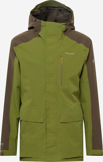 CRAGHOPPERS Jacke 'Lorton' in brokat / oliv, Produktansicht
