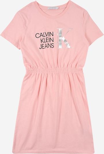 Calvin Klein Jeans Šaty - ružová / čierna / strieborná, Produkt