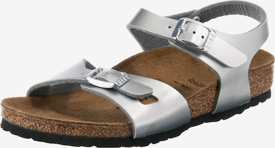 BIRKENSTOCK Sandale 'Rio' in silber, Produktansicht