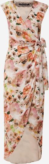 PATRIZIA PEPE Robe 'ABITO' en orange clair / rosé / blanc, Vue avec produit