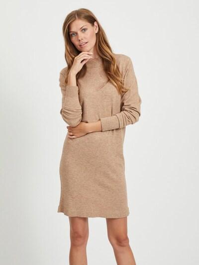 OBJECT Kleid in hellbraun, Modelansicht