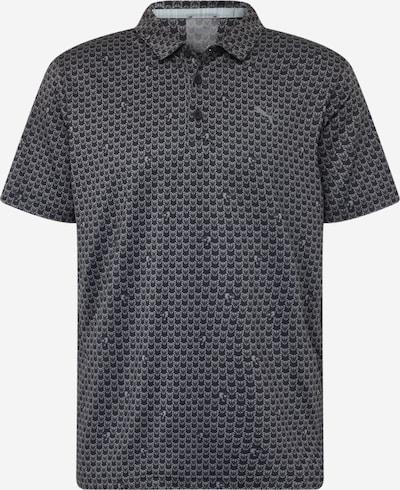 PUMA Poloshirt en gris foncé / noir, Vue avec produit