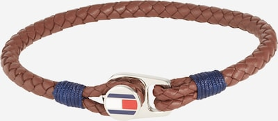 TOMMY HILFIGER Bracelet in blue / brown / red / silver / white, Item view