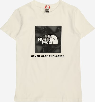 THE NORTH FACE Shirt 'SUMMIT' in grau / schwarz / wollweiß, Produktansicht
