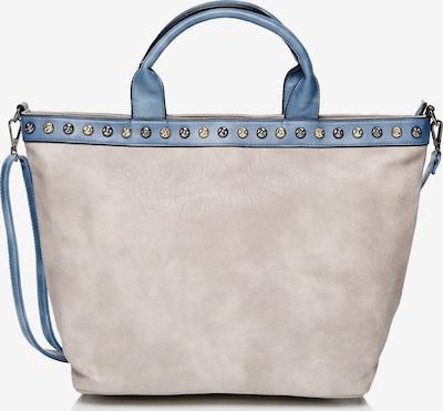 Emma & Kelly Shopper in blau / hellgrau, Produktansicht