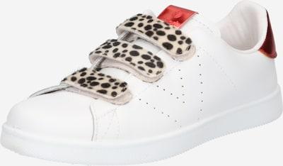 VICTORIA Sneaker in beige / rot / schwarz / weiß, Produktansicht