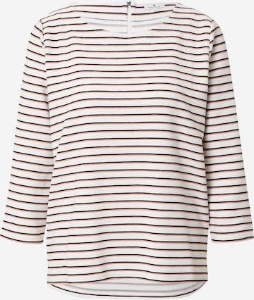TOM TAILOR Sweatshirt in Weiß