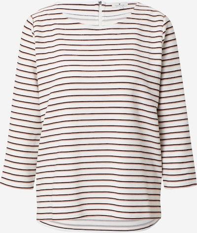 TOM TAILOR Sweatshirt in braun / schwarz / weiß, Produktansicht