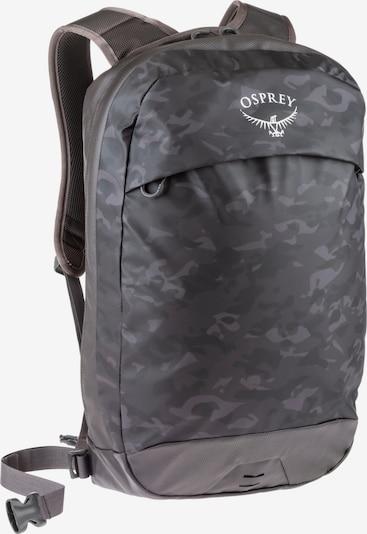 Osprey Rucksack 'Transporter' in grau / anthrazit, Produktansicht