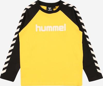 Hummel Camiseta en amarillo / negro / blanco, Vista del producto