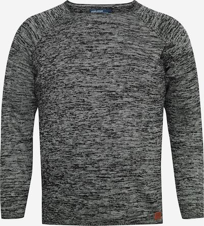 BLEND Strickpullover 'BT DAN' in grau / schwarz, Produktansicht