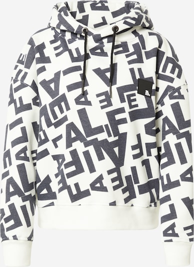 Alife and Kickin Sweatshirt in de kleur Zwart / Wit, Productweergave